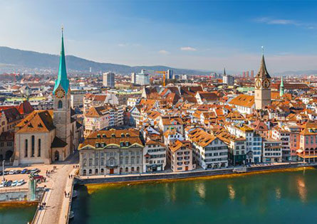 Estudiar francés en Zurich, Suiza